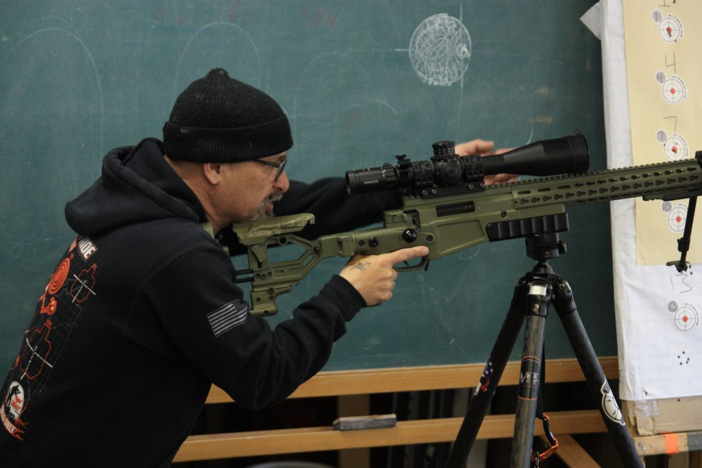 Precision Rifle Instruction